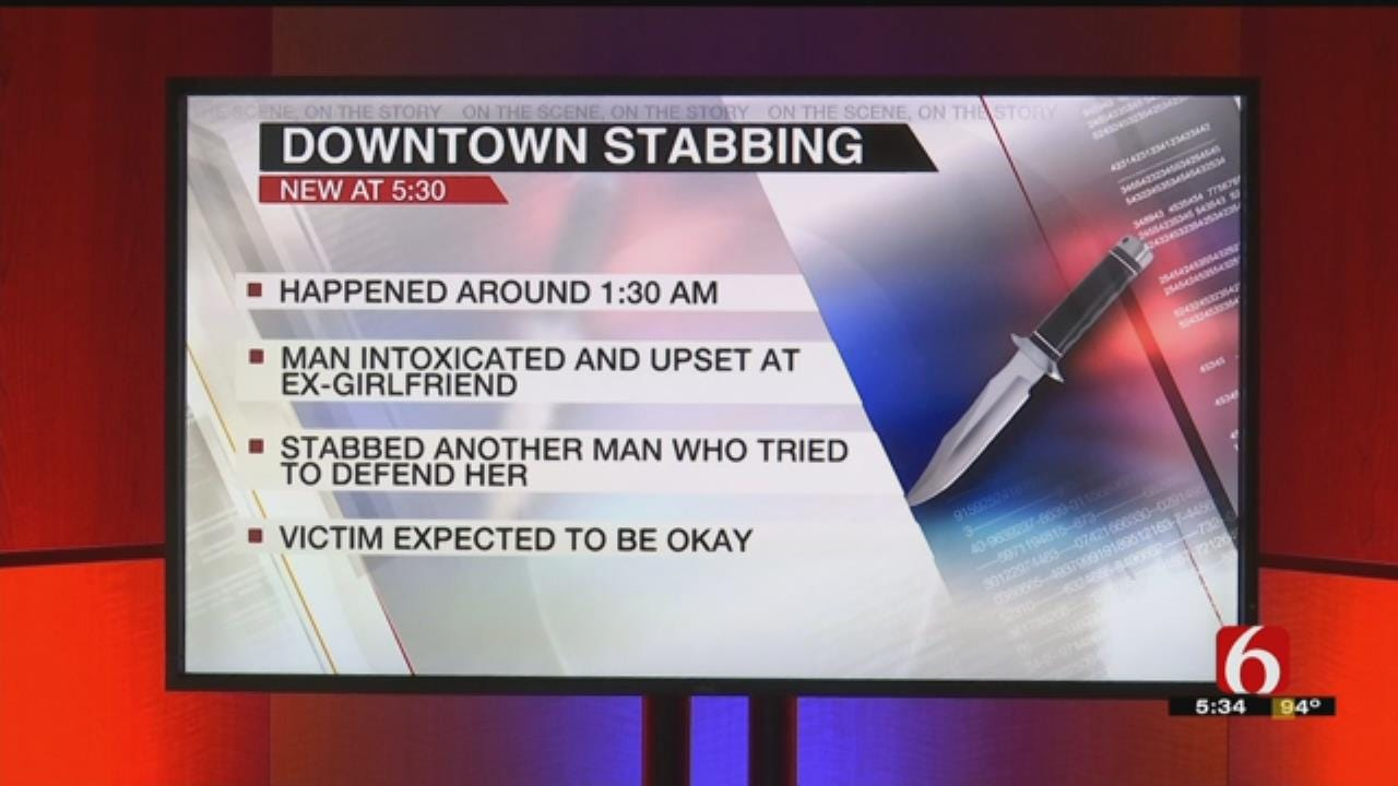 Tulsa Police Looking For Suspect In Stabbing