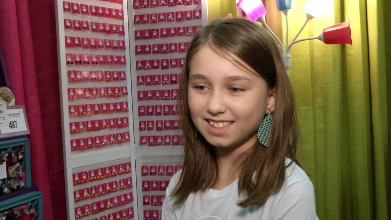 10-Year-Old Entrepreneur Showcases Business At Affair Of The Heart