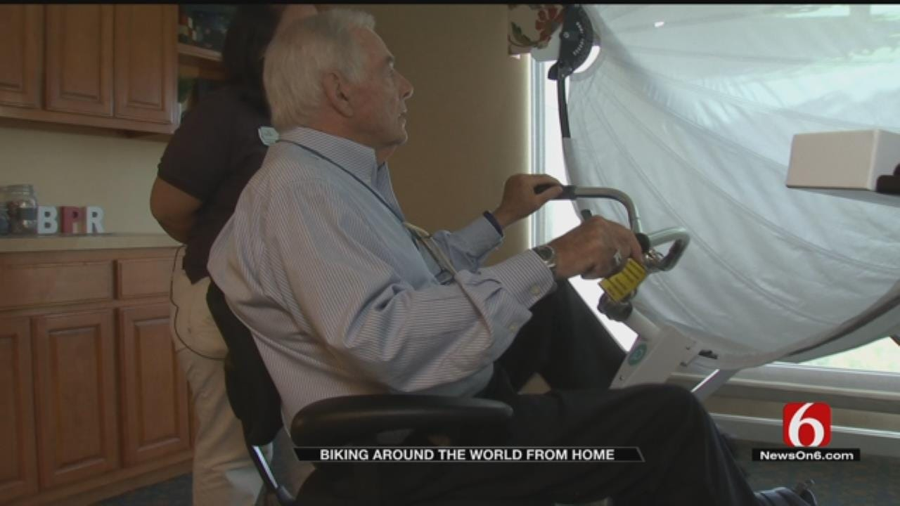 Technology Gives Tulsa Senior Living Residents Bike Tour Of Wherever They Want To Go