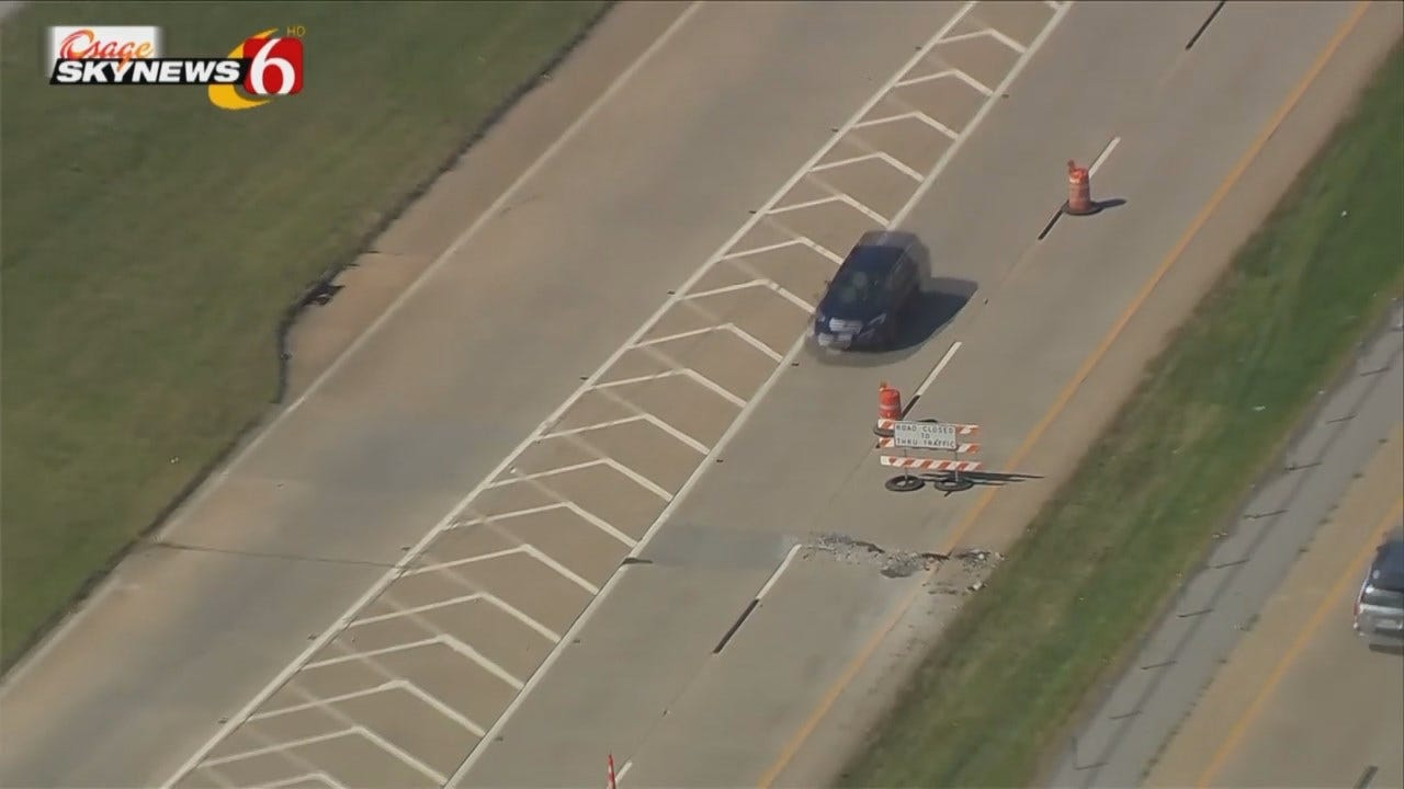 Osage SkyNews 6 HD: Video Of I-244 Resurfacing Project