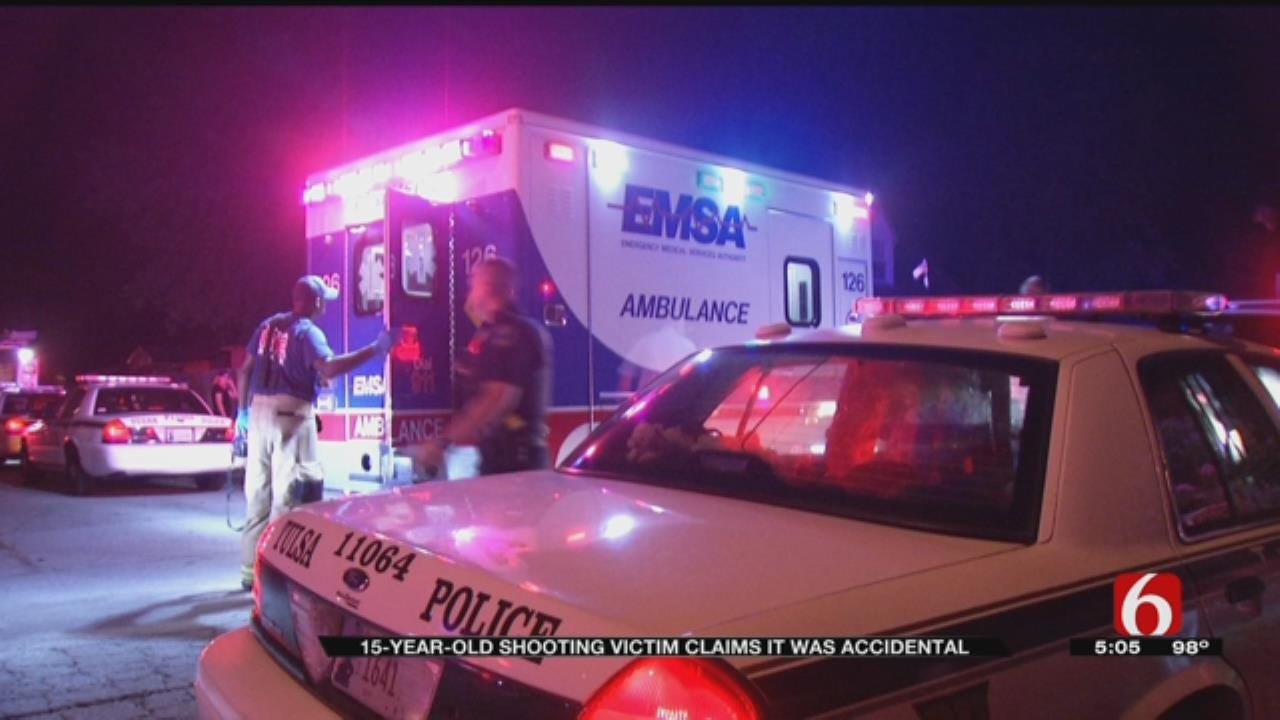 Police Say Tulsa Teen's Shooting Was Accidental