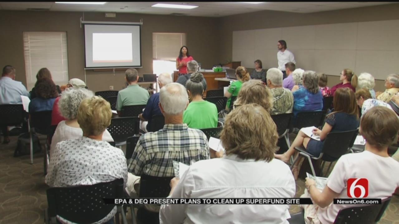EPA, DEQ Discuss Plans To Clean Up Superfund Site In Bristow
