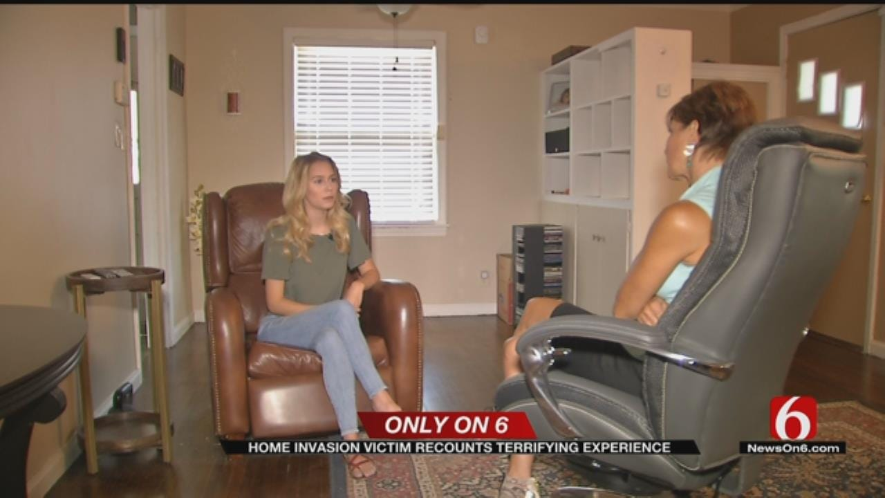 Teenage Home Invasion Victim Talks About The Horrendous Experience