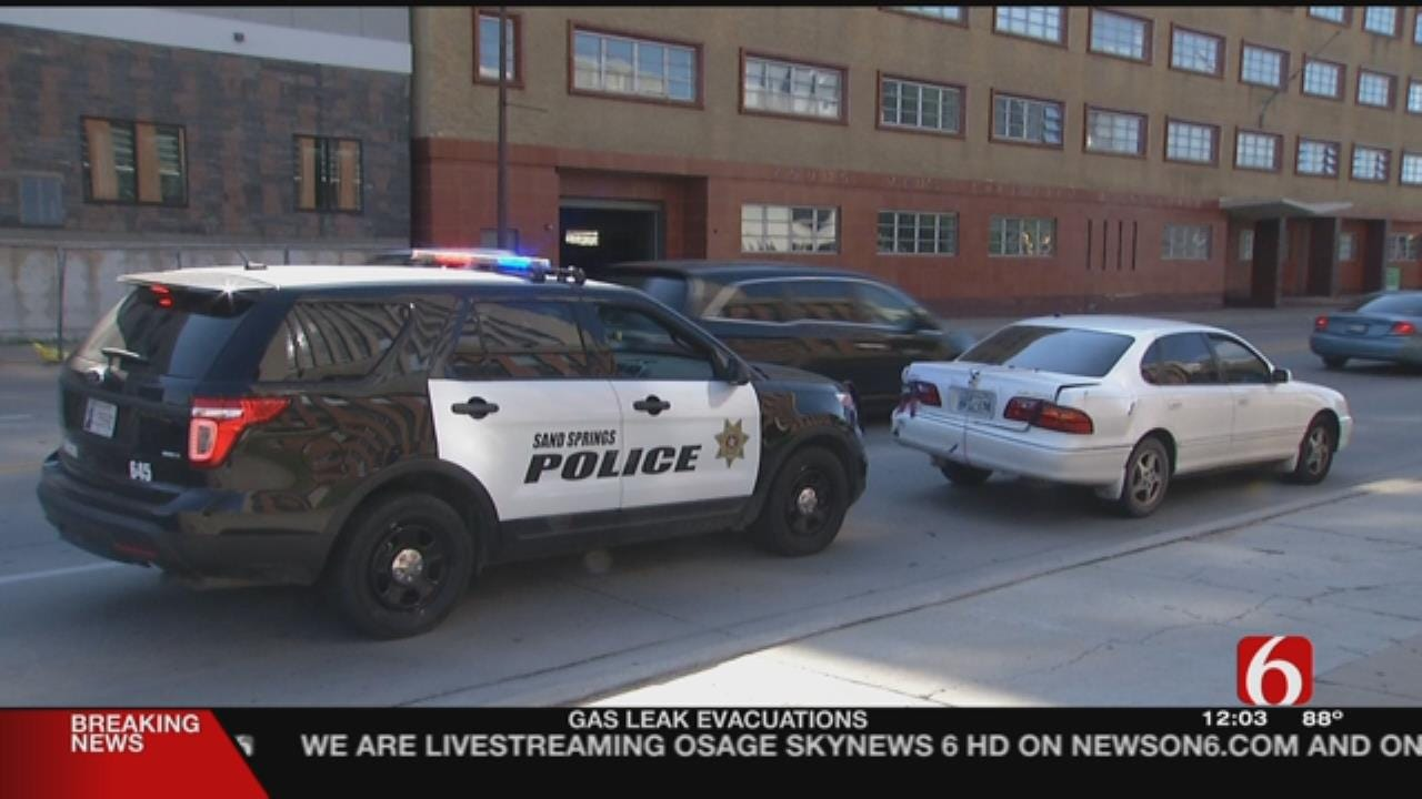 Sand Springs Police Chase Ends In Downtown Tulsa