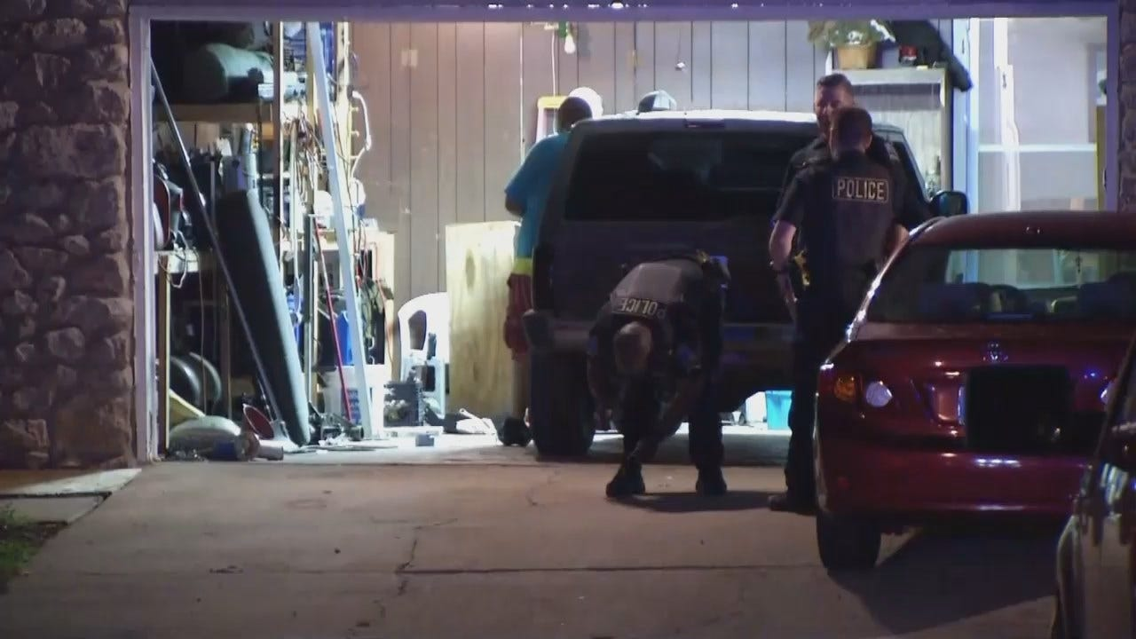 WEB EXTRA: Video From Scene Of Tulsa Home Invasion-Robbery
