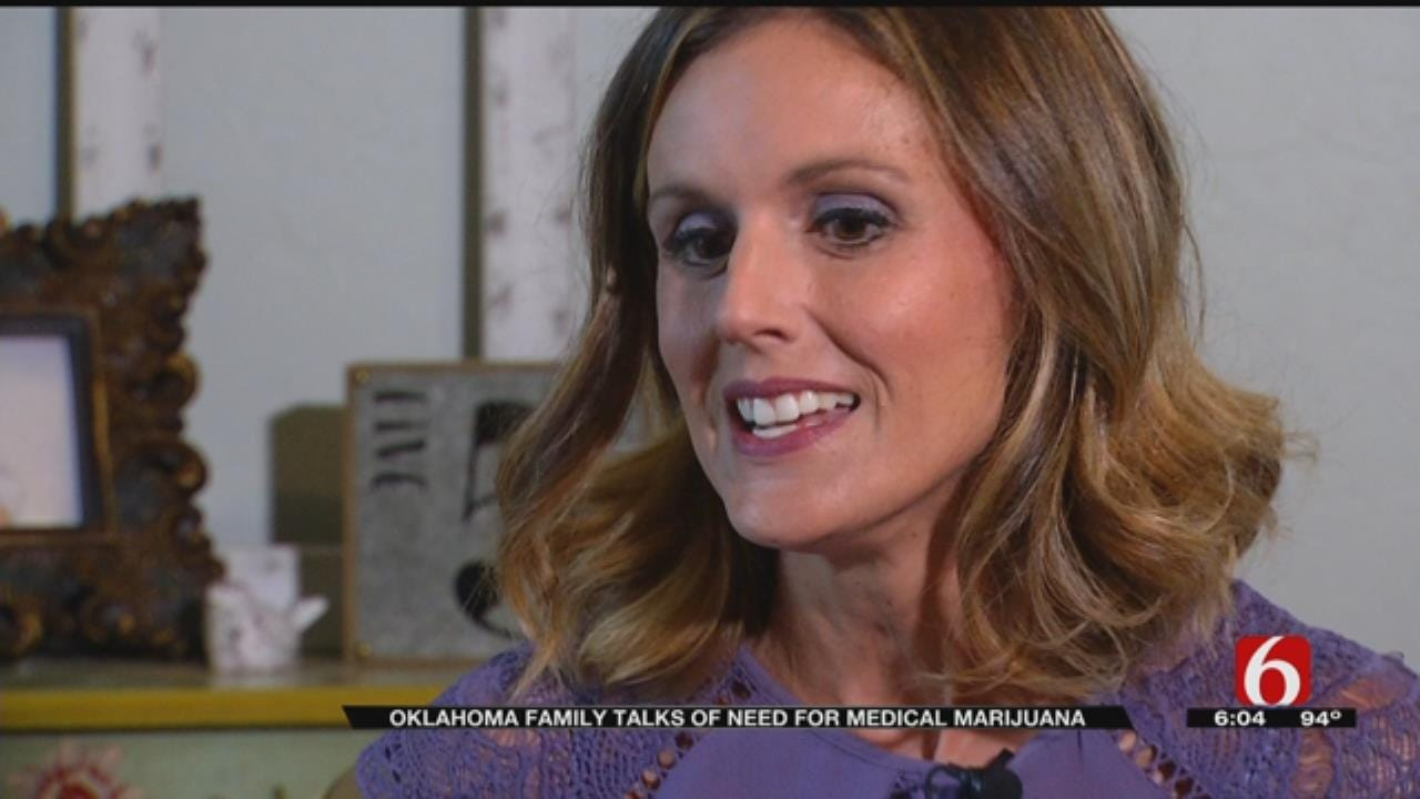 Oklahoma Family Hopes Medical Marijuana Replaces Daughter's Intense Medications