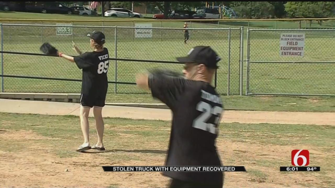 Stolen Truck Belonging To Claremore Special Olympics Team Recovered