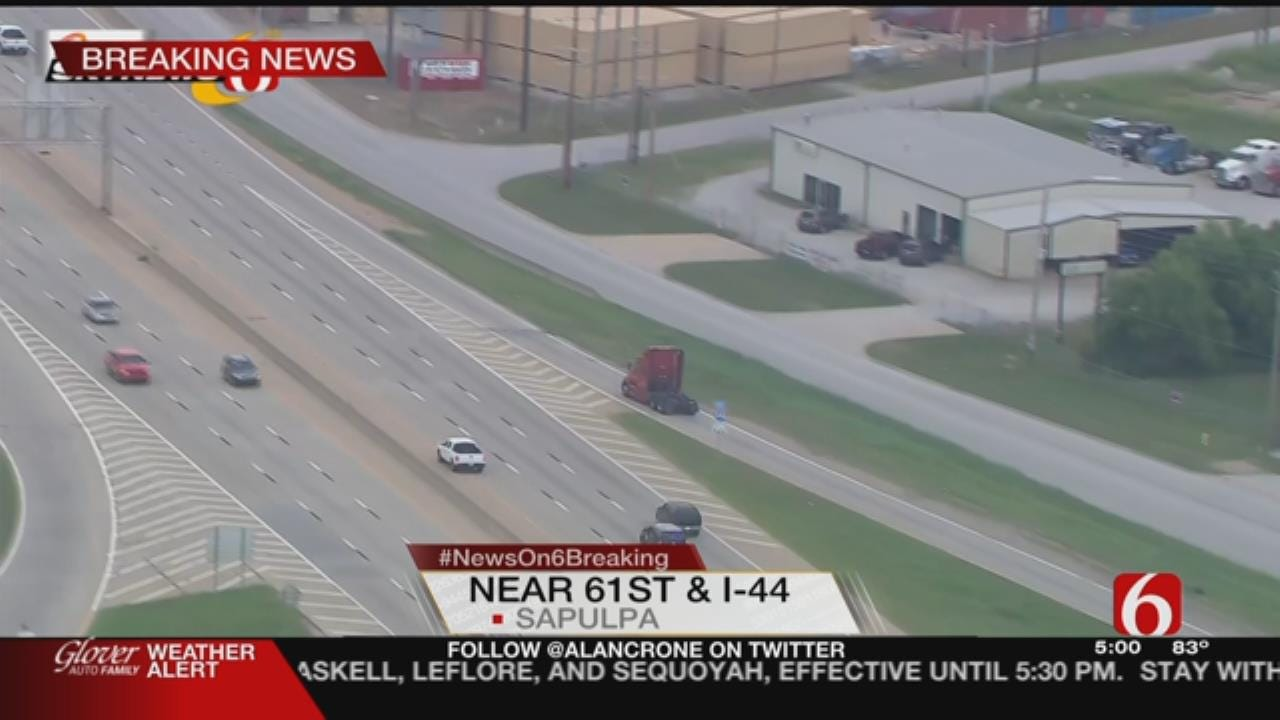 Dramatic End For Chase Of Tulsa Bank Robbery Suspect