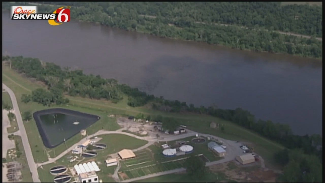 WEB EXTRA: Video Of Tulsa's Arkansas River Levees