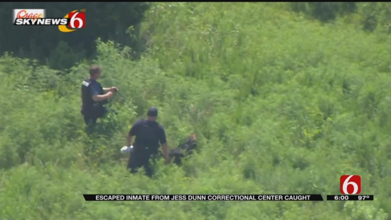 Department Of Corrections: Escaped Inmate Captured