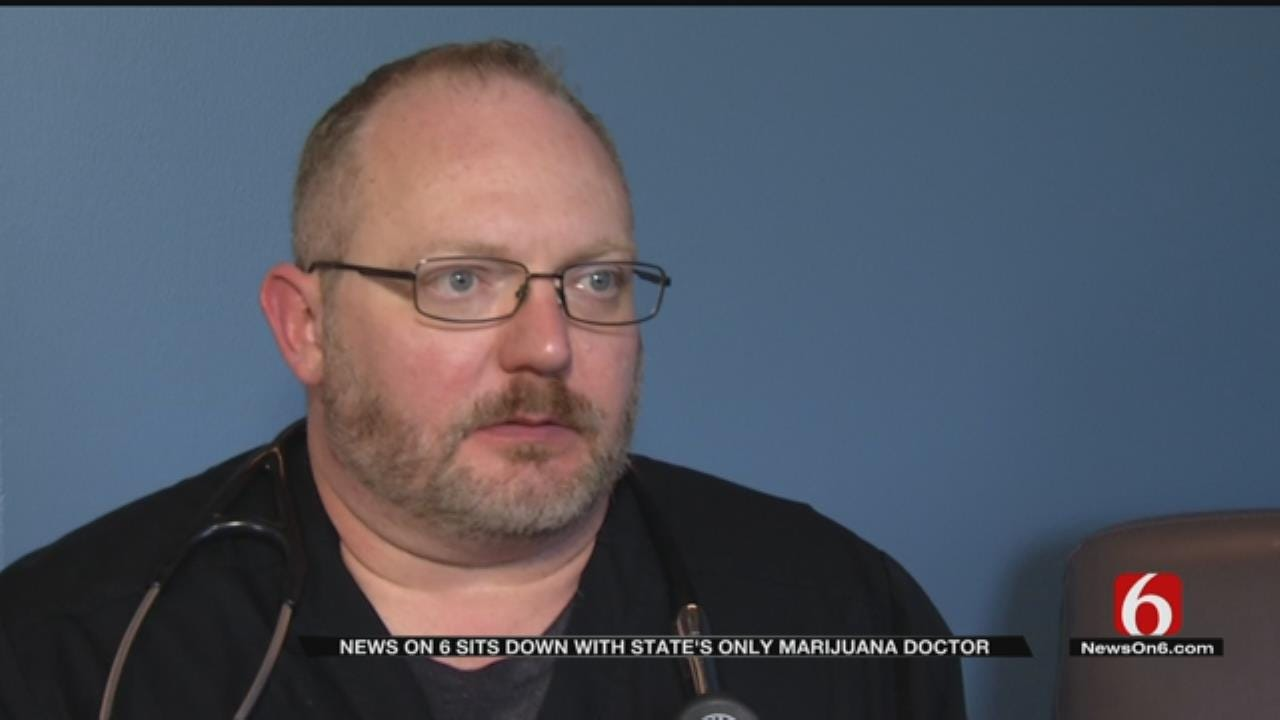 Doctor Behind Tulsa Medical Marijuana Clinic Speaks About His Practice