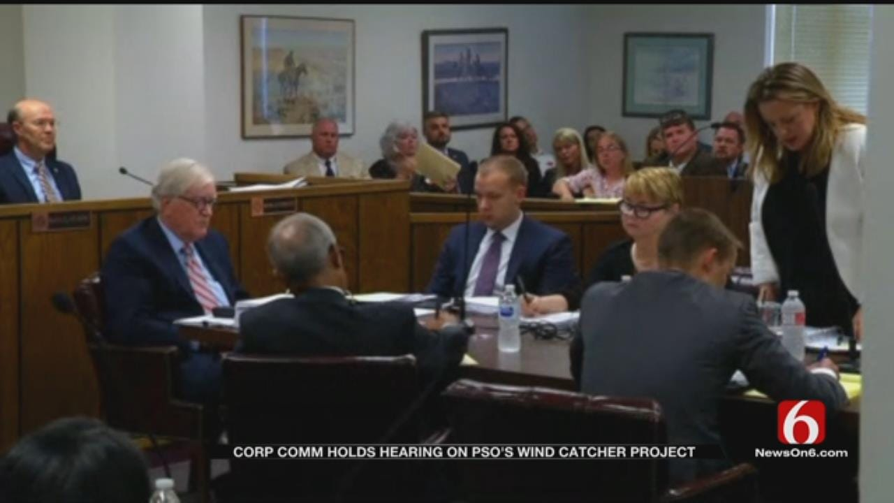OK Corporation Commission Hears Support, Opposition To Wind Catcher Project