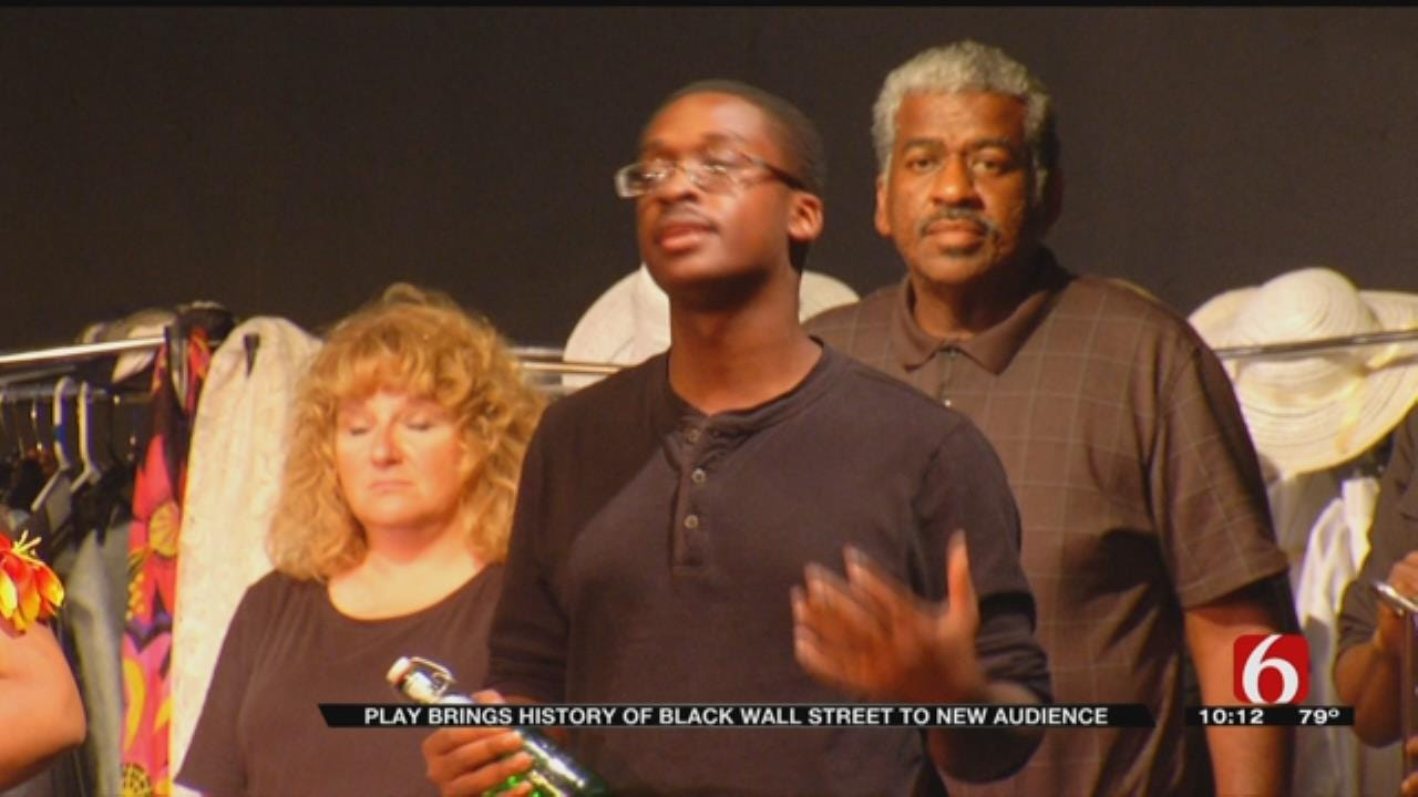 Tulsa-Native Brings Tulsa Race Riot To The Stage