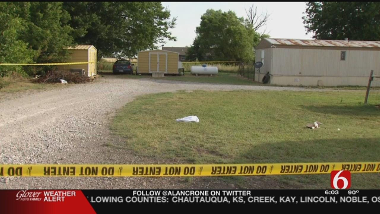 Man Killed Near Oologah, Stabbed In Heart