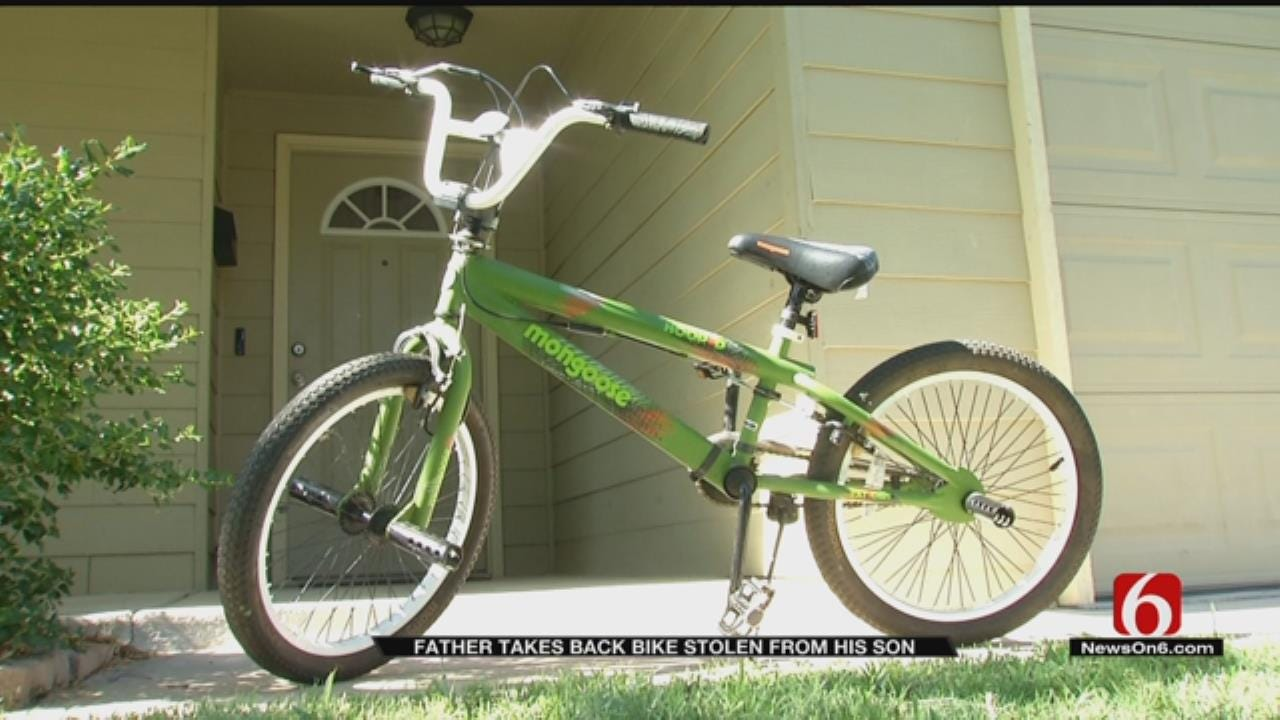 Tulsa Father Tracks Down Son's Stolen Bike