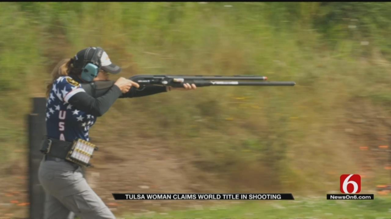 Retired Tulsa Police Officer Places In International Shooting Competition