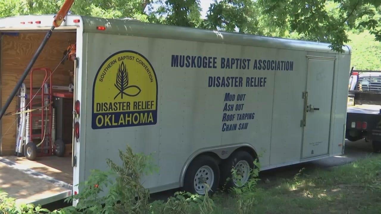 WEB EXTRA: Okmulgee Storm Cleanup Volunteers