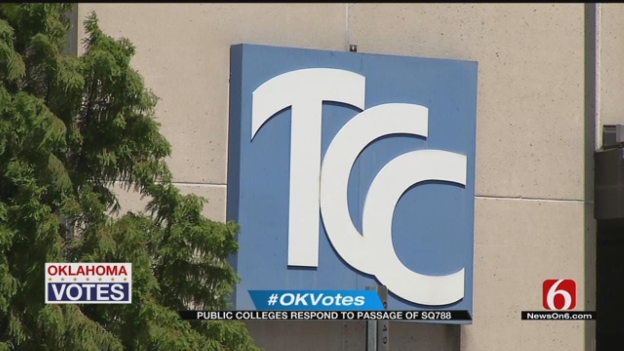 TCC: Medical Marijuana Is Still Illegal On Campus Due To Federal Funding Status