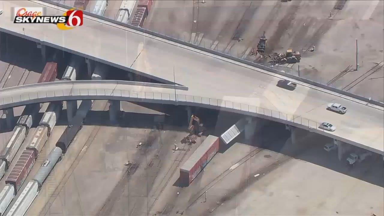 Osage SkyNews 6 HD: Tulsa Train Derailment