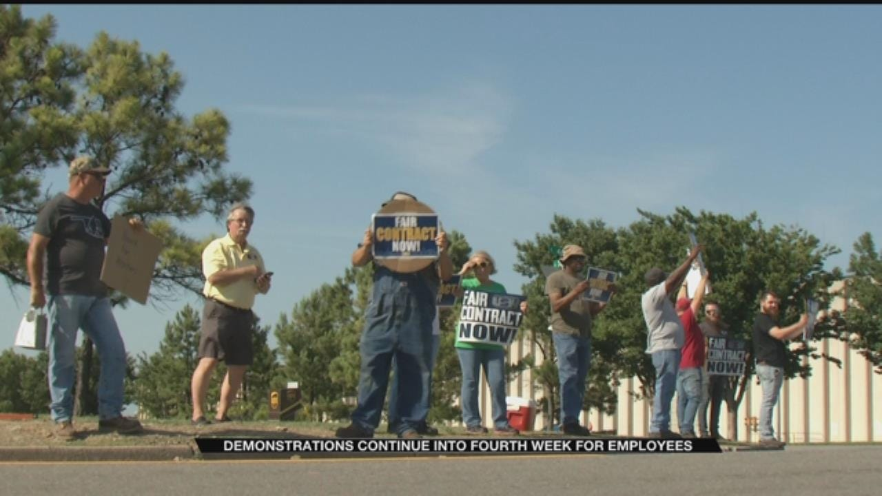 One Month Into Demonstrations, BS&B Employees Say They Hope To Avoid Strike