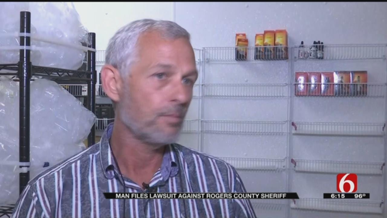 Man Escorted From 788 Meeting, Rogers County Sheriff Tell Different Stories