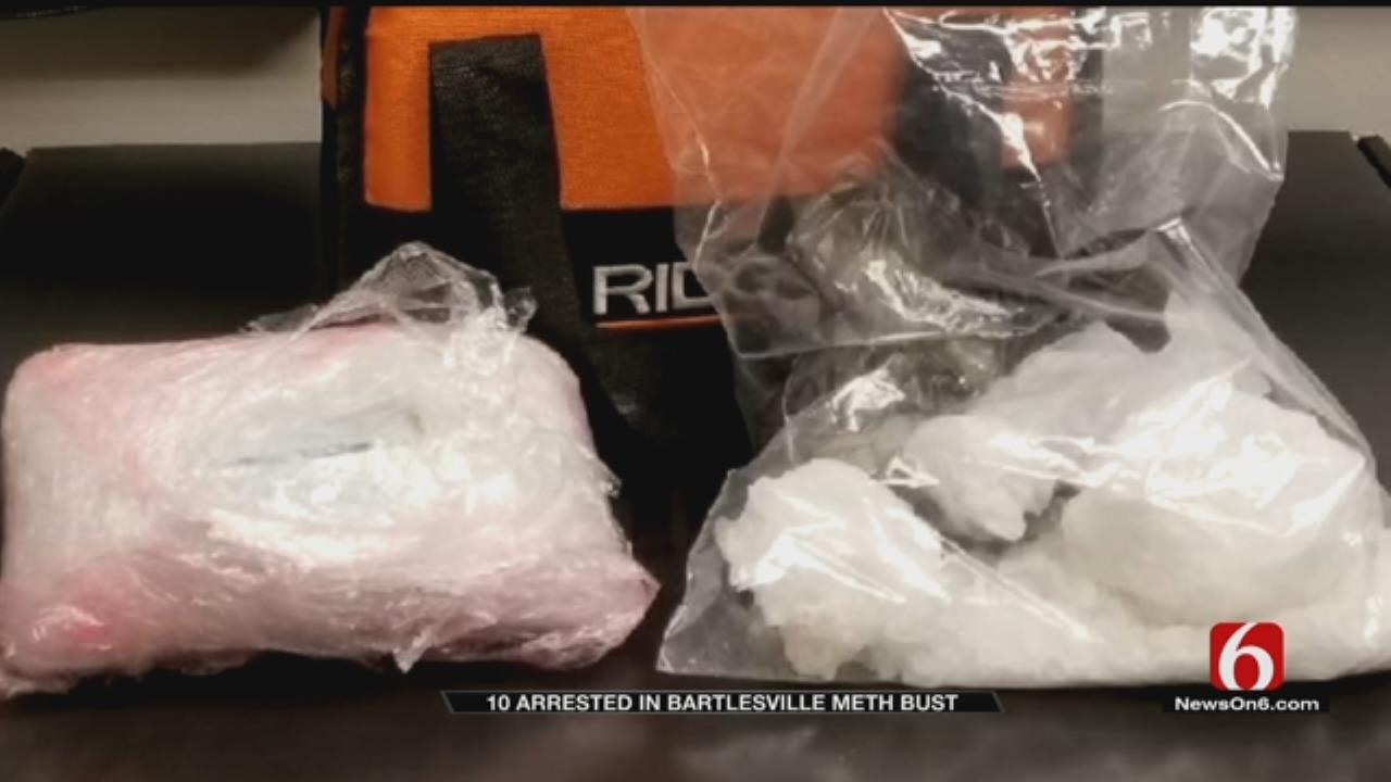 10 Arrested In Bartlesville Drug Bust