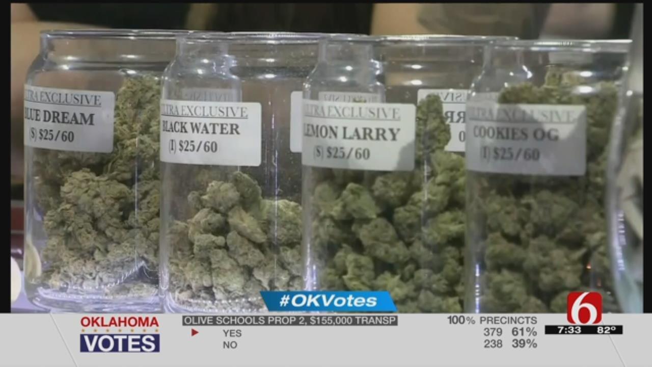 Oklahoma Voters Say 'Yes' To Medical Marijuana