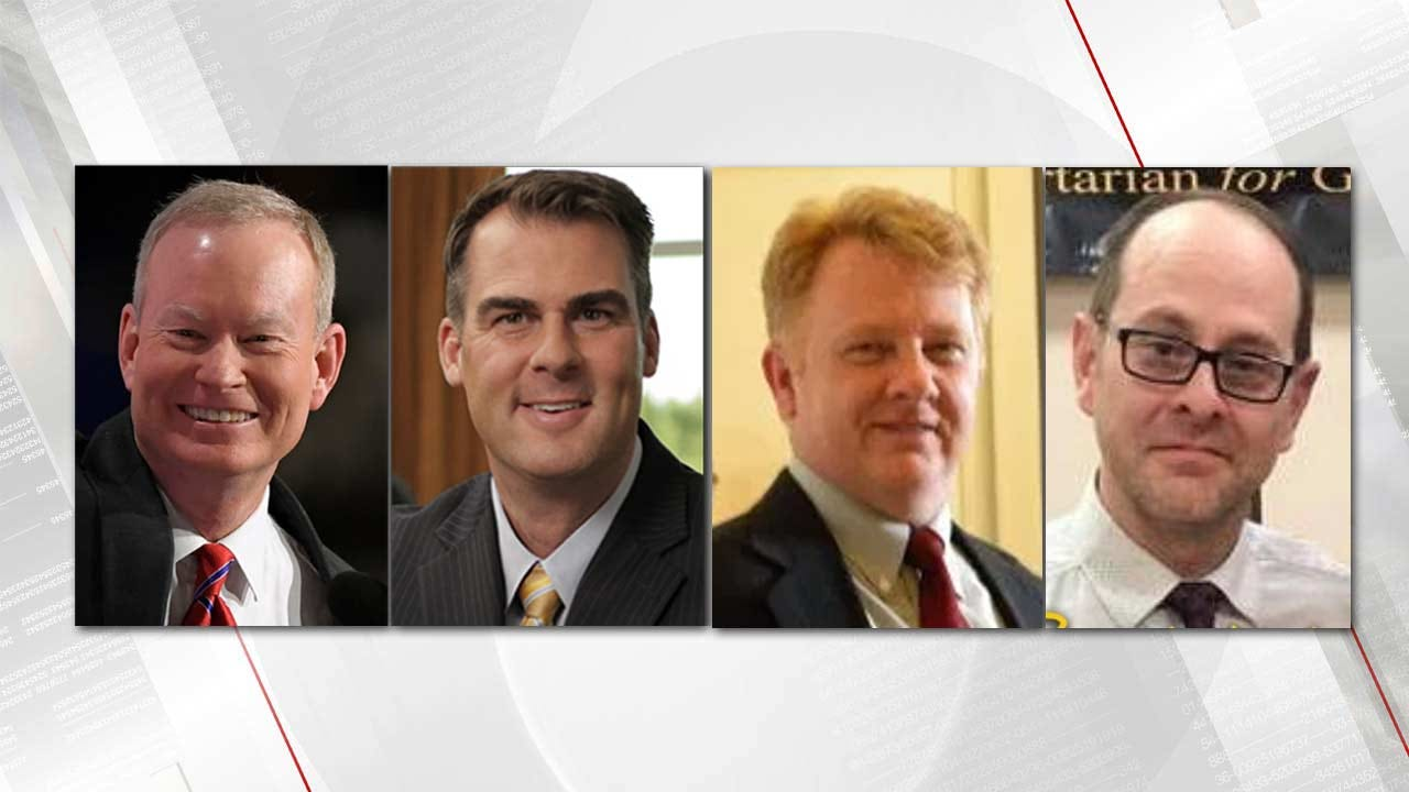 Republicans, Libertarians In Runoff For Oklahoma Governor