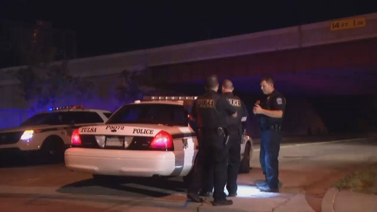 WEB EXTRA: Video From Scene Of Tulsa Armed Robbery Arrest