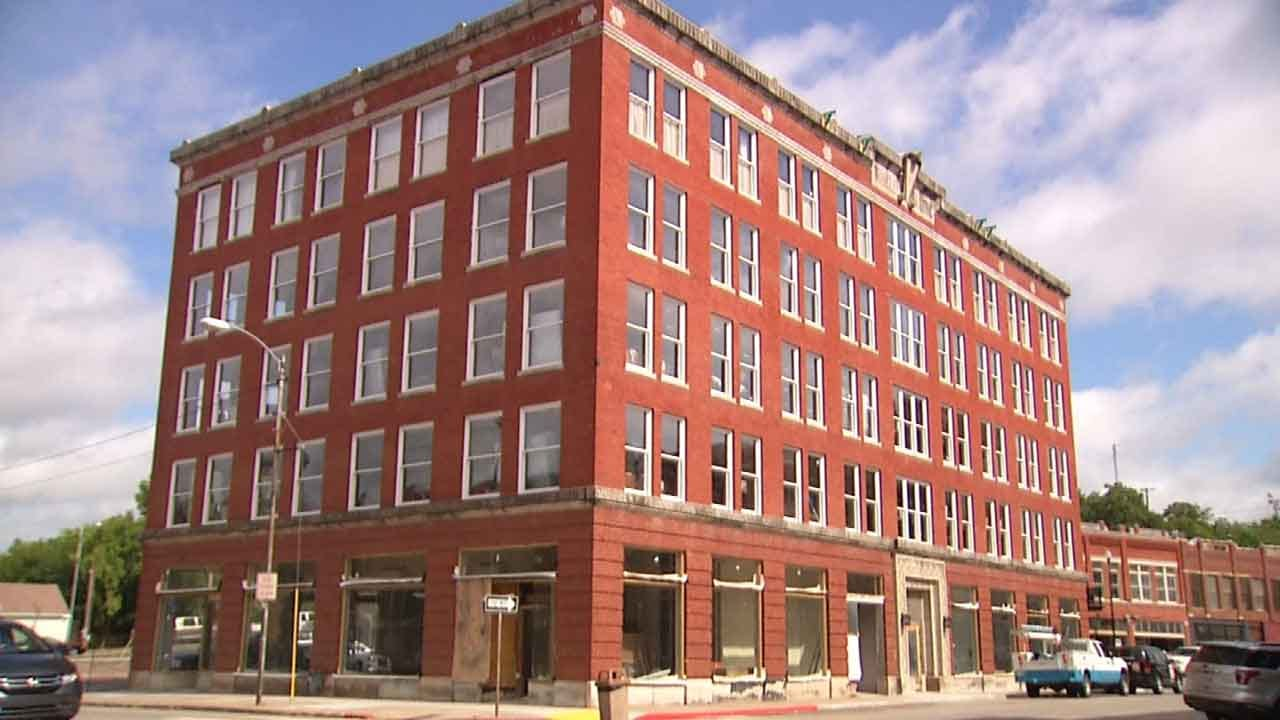 Pawhuska's Triangle Building Opening For First Time In Decades