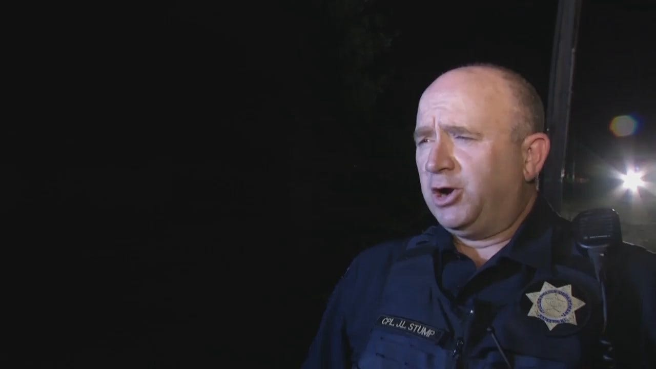 WEB EXTRA: Tulsa Police Cpl. James Stump Talks About Chase, Arrest