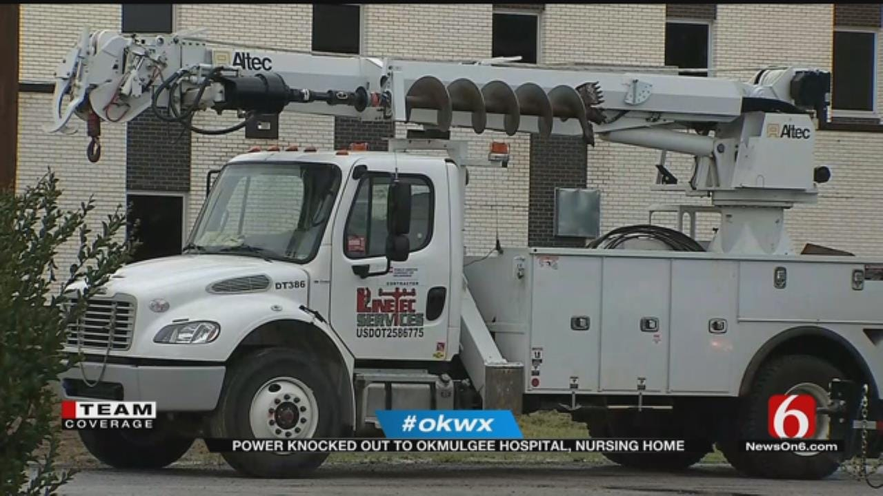 Over 2,000 Without Power In Okmulgee, Including Nursing Home