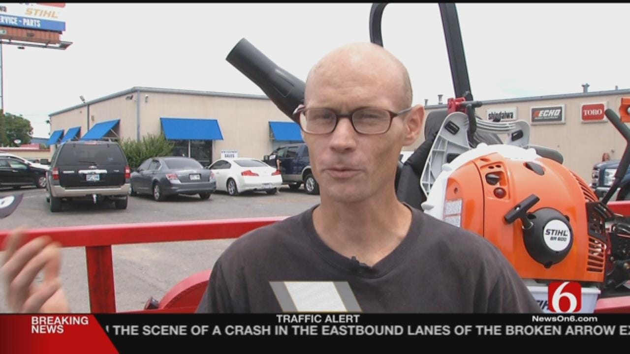 Fellow Veterans Donate Equipment to Theft Victim