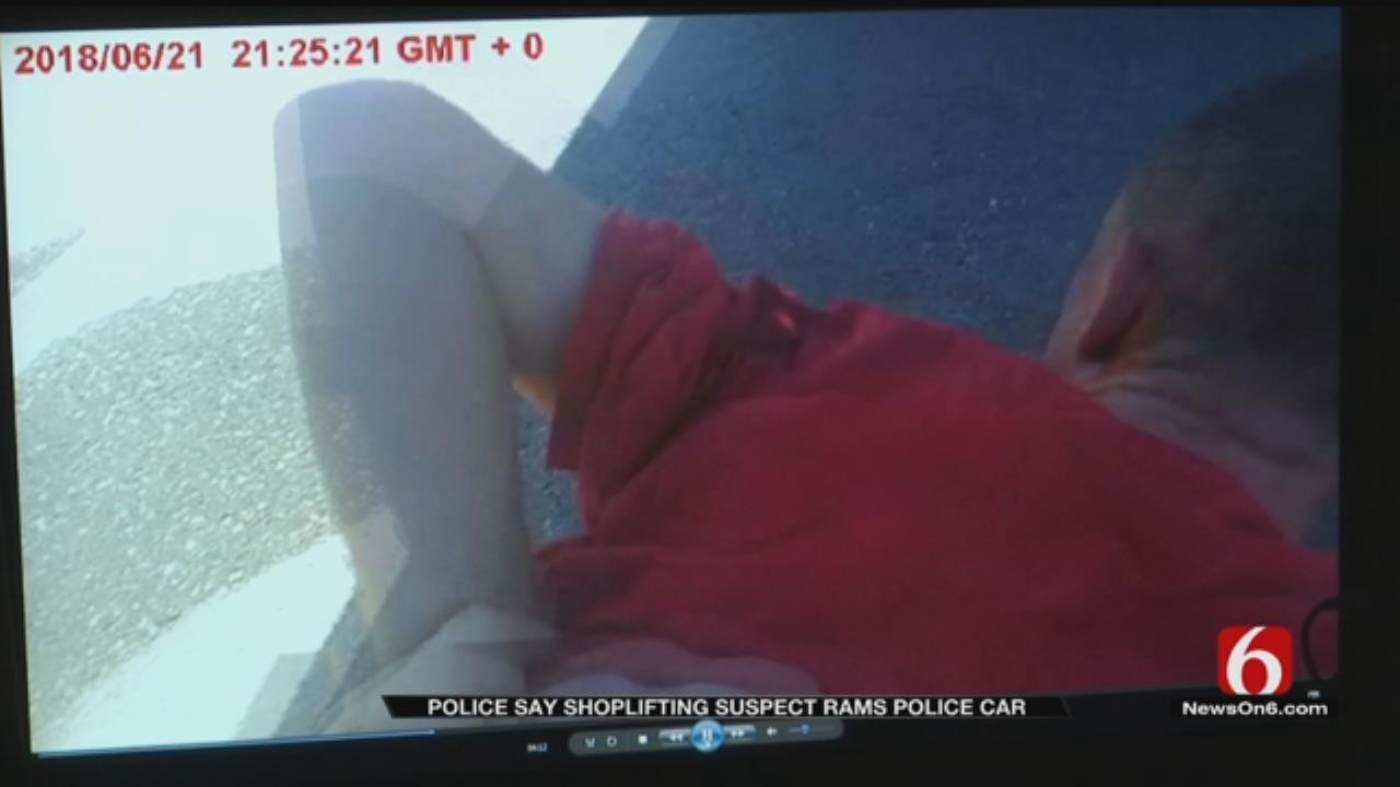 Bodycam Video Shows Owasso Suspect's Fight To Escape Police