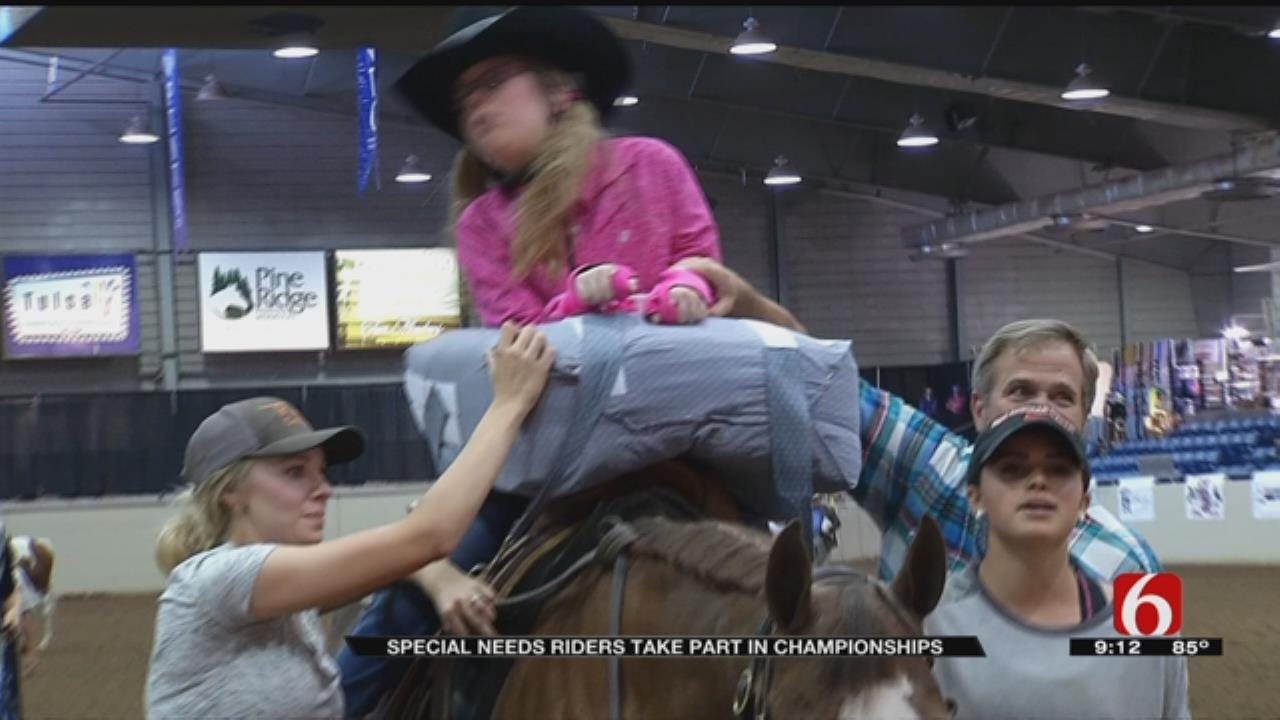 Pinto World Championships Holds Special Competition For Special Needs Children