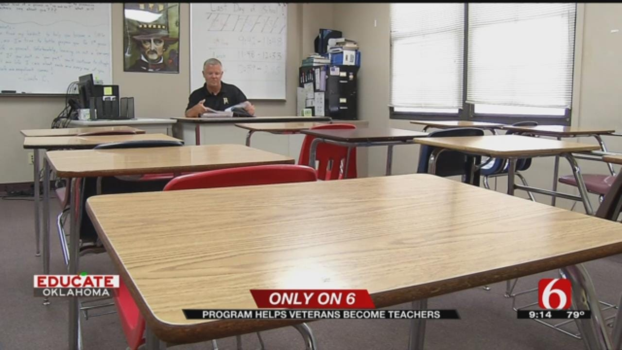 Troops To Teachers Program Looking To Ease Teacher Shortage In Oklahoma