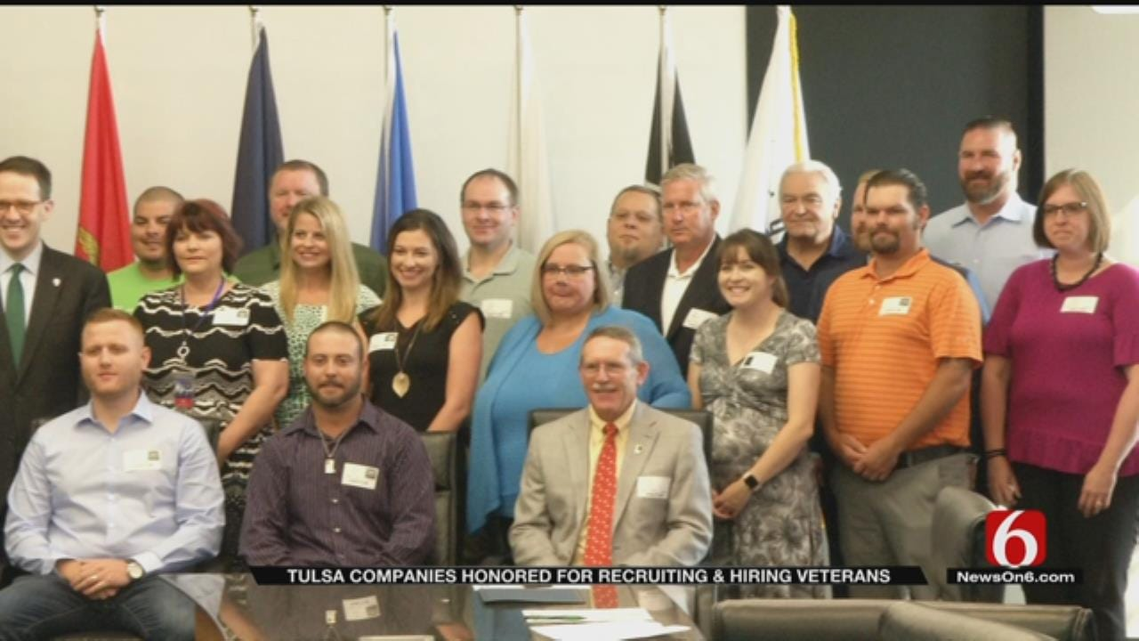 Mayor Honors Tulsa Companies For Hiring Veterans