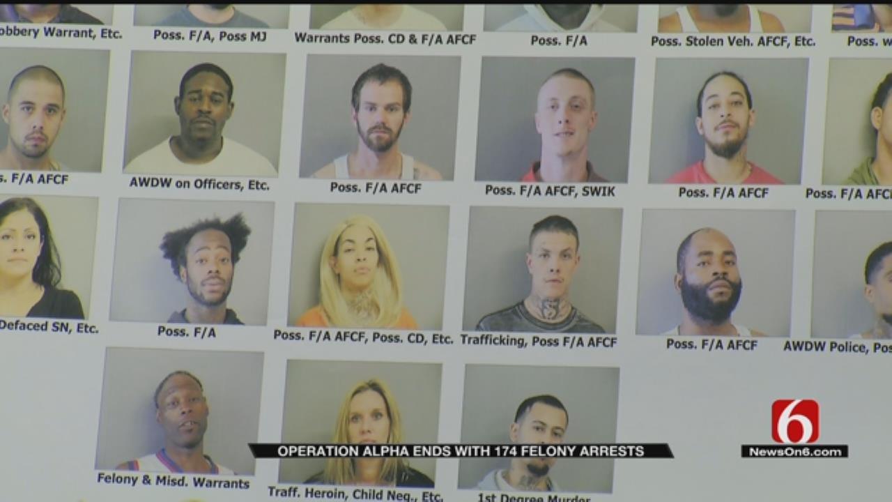 Operation Alpha Targeted Most Violent Tulsa Criminals