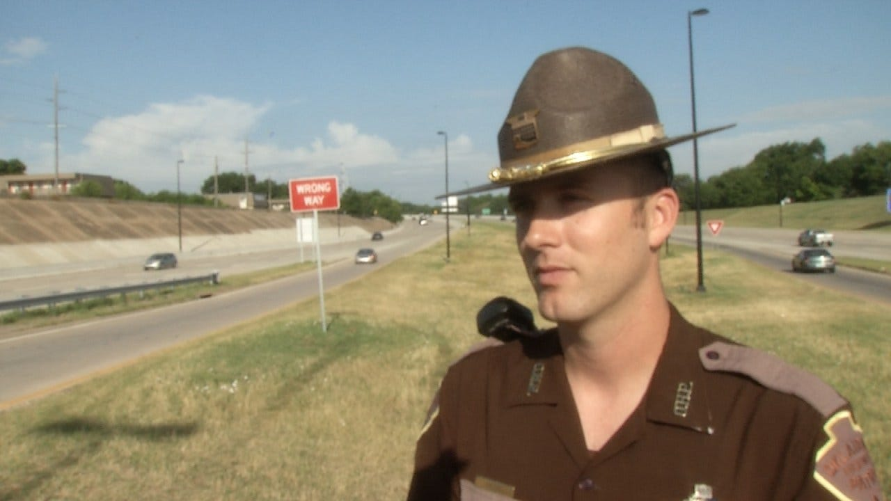 WEB EXTRA: Trooper Cody Willis On Tulsa Motorcycle Crash