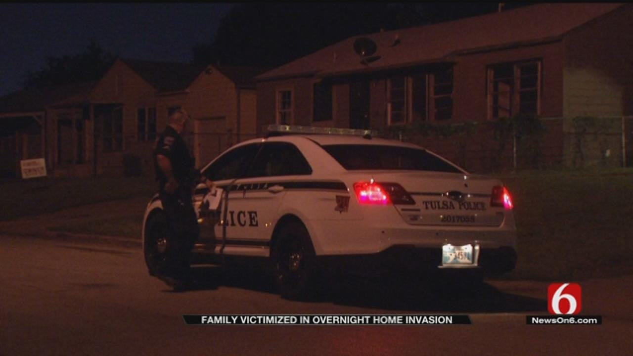 Four Sought After Tulsa Home Invasion Robbery