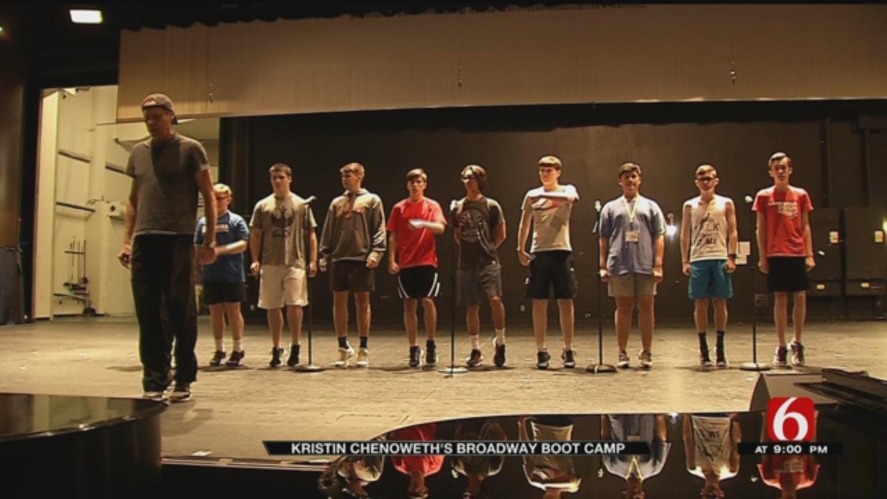 Kristin Chenoweth Hosts Broadway Boot Camp In Broken Arrow