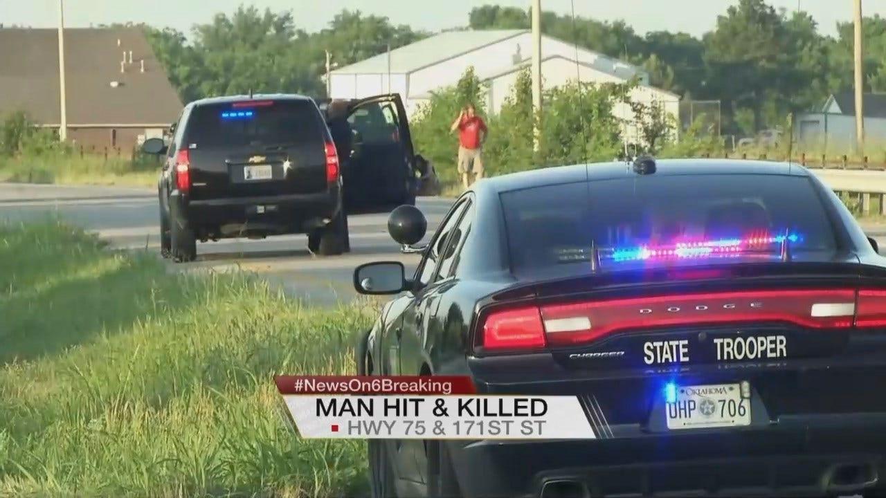 Tess Maune: Man Killed Crossing Highway In Glenpool