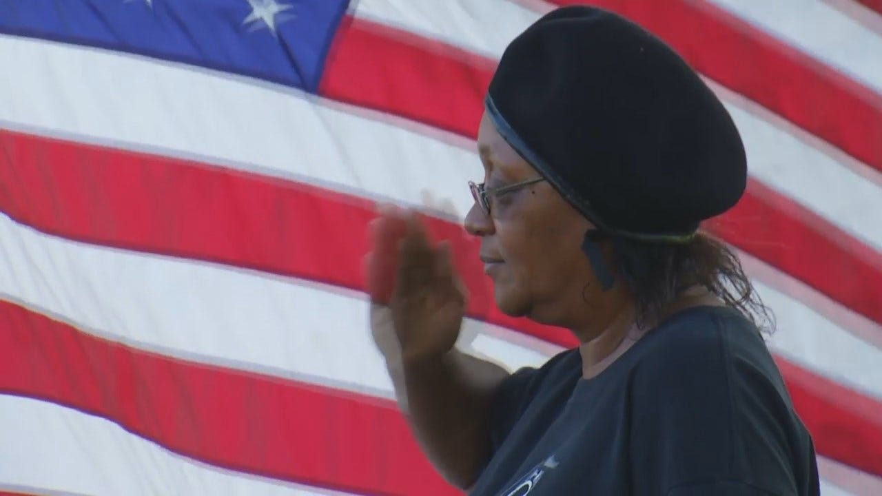 WEB EXTRA: Video From American Legion Post Flag Retirement Ceremony