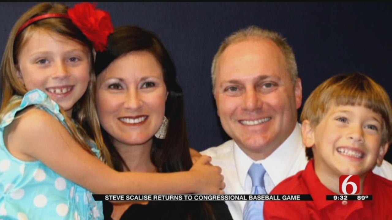 Steve Scalise Returns For Congressional Baseball Game A Year After Shooting