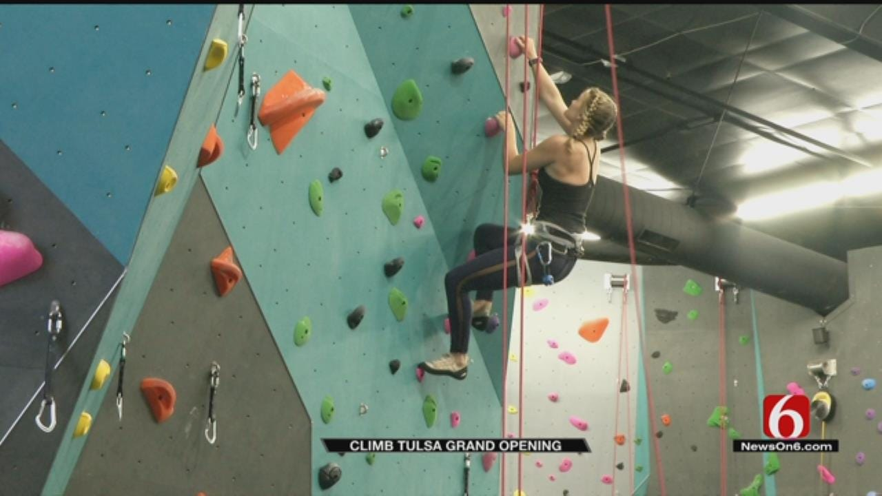 Indoor Climbing Gym 'Climb Tulsa' Now Open