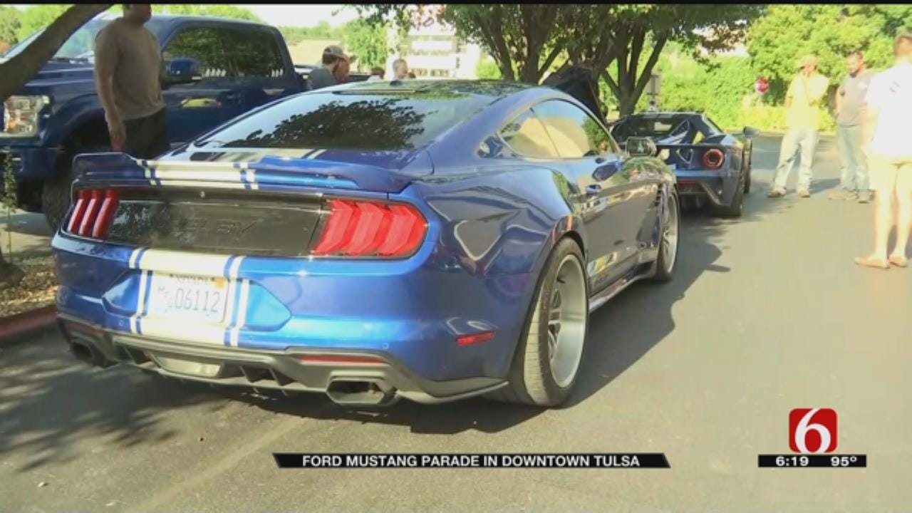 Tulsa Hosts 44th Annual Mid America Ford And Shelby Nationals