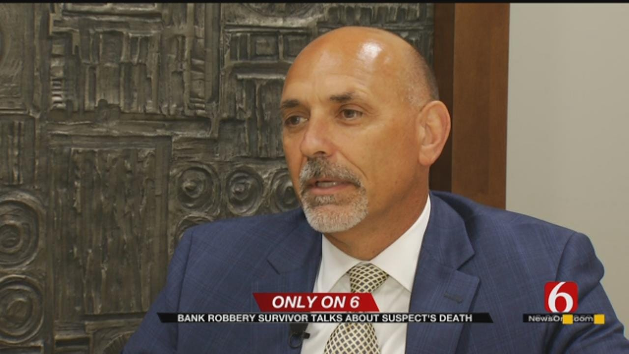 Oklahoma Bank President Shot During Robbery Speaks Out After Robber's Suicide