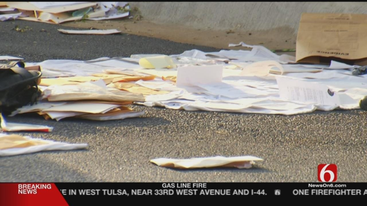 Glenpool PD Accidentally Throw Out Police Documents