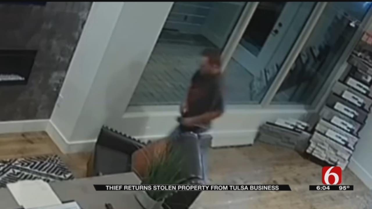 Burglar Confesses Hours After Ransacking Tulsa Business