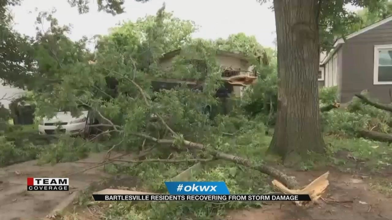 Bartlesville Residents Cleaning Up After Morning Storm